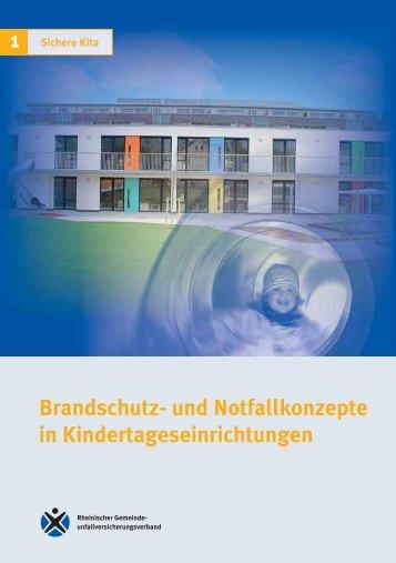 Brandschutz- und Notfallkonzepte in ... - Unfallkasse NRW