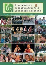 Stadtkapelle Leibnitz 2011 - 2012