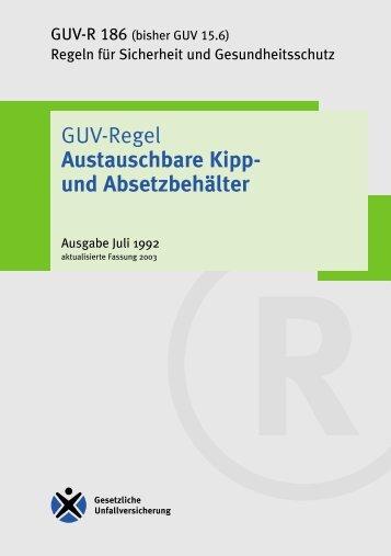Austauschbare Kipp- und Absetzbehälter - Regelwerk des ...