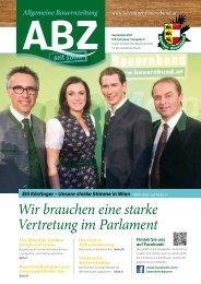 Allgemeine Bauernzeitung  - Ausgabe 02 - 2017 (Kärntner Bauernbund)