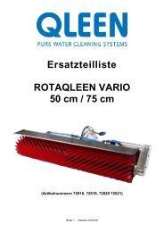 Rotaqleen Vario 50-75 Ersatzteilliste Deutsch_07_2016