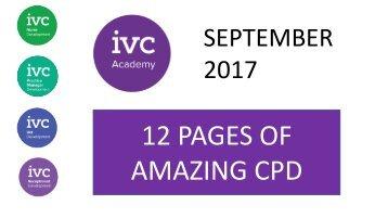 September CPD Bulletin
