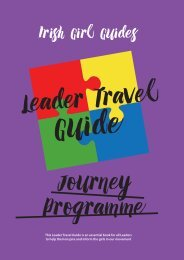 Journey Programme Leader Travel Guide
