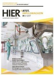 HIER+JETZT. Impulsmagazin // Ausgabe 01/2017