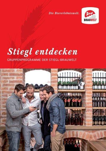 Gruppenprogramme Stiegl-Brauwelt 2017