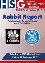 HVSH Pokal: Rabbits vs. SG Wift Neumünster
