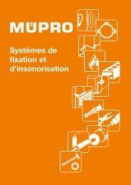 MÜPRO catalogue FR