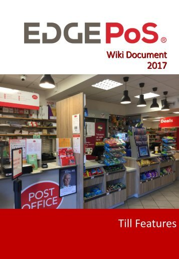 EDGEPoS Wiki Document 2017