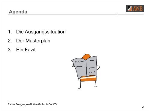Vortrag: AWB 50plus - Gemeinsam in die Zukunft - Unfallkasse NRW