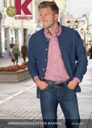 Kimmich Mode-Versand | Größenspezialist für Männermode | Herbst 2017