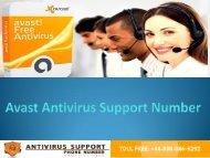 +44-800-046-5292 Avast Antivirus Support Number
