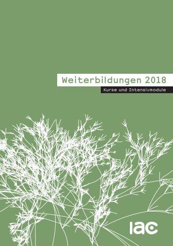 iac Weiterbildungen 2018
