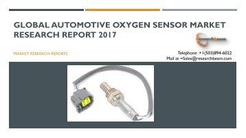 Global Automotive Oxygen Sensor Market Research Report 2017