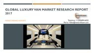 Global Luxury Van Market Research Report 2017