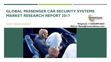 Global Passenger Car Security Systems Market Research Report