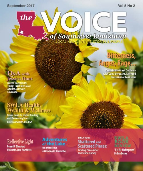 The Voice of Southwest Louisiana September 2017 Issue