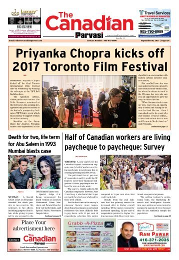 The Canadian Parvasi - Issue 11