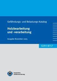 verarbeitung - Regelwerk des Bundesverbandes der Unfallkassen