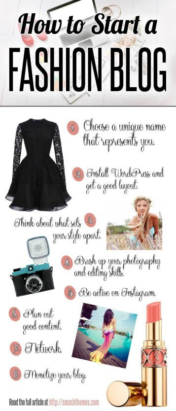 Quick Tips for How to Start a Fashion Blog of Your Own