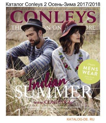 Каталог conleys 2 Осень-Зима 2017/2018.Заказывай на www.katalog-de.ru или по тел. +74955404248.