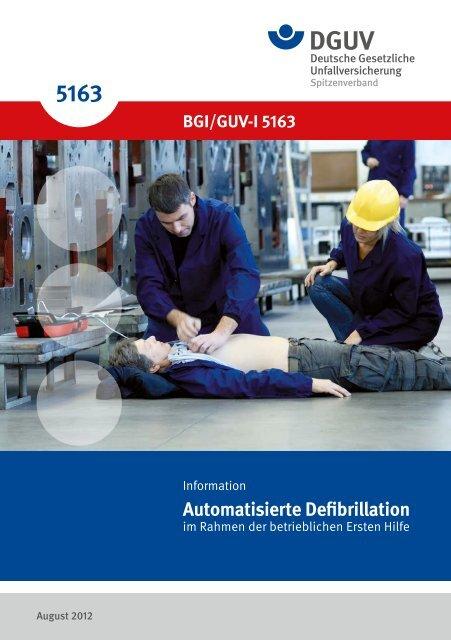 """Information """"Automatisierte Defibrillation im ... - Unfallkasse NRW"""
