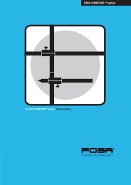 FOBA COMBITUBETM System STUDIO-TECHNOLOGY