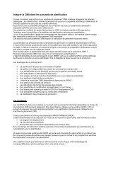 Intégrer la CMS dans les concepts de planification - Mimot.com