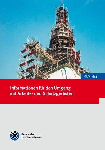 Informationen für den Umgang mit Arbeits - Unfallkasse NRW