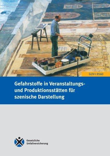 Gefahrstoffe in Veranstaltungs - Regelwerk  des Bundesverbandes ...