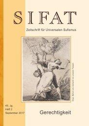 SIFAT - Zeitschrift für Universalen Sufismus - 2017 Heft 2 - September (Leseprobe)