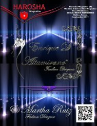 Harosha # 5 Enrique d'Altamirano y Martha Ruiz