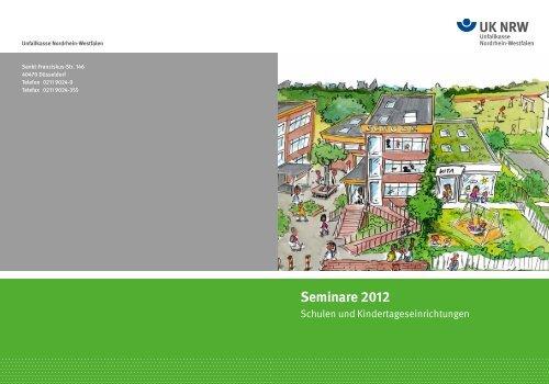 Bitte ein Bild einladen! Seminare 2012 - Unfallkasse NRW