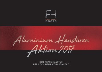 Prospekt RK Aluminium-Haustüren-Aktion-2017