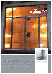 RP Technik Fire protection systems