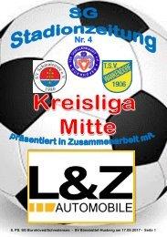 TSV  Stadionzeitung 4-2017-170917