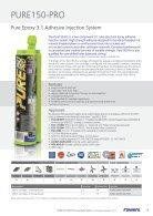 PurePro 150 Technical Data Sheet - Page 3