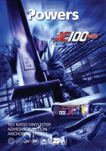 AC100 Pro Technical Data Sheet