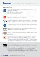 PURE110 Pro Technical Data Sheet - Page 2