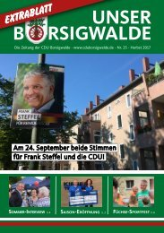 Unser Borsigwalde 25 (September 2017)
