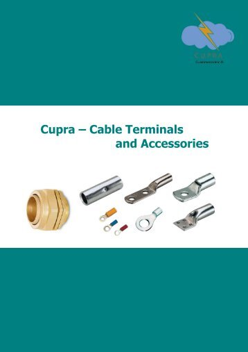 Cupra Cable Terminals and Accessories