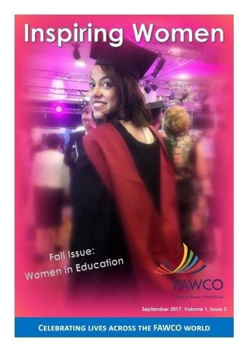Inspiring Women Fall 2017
