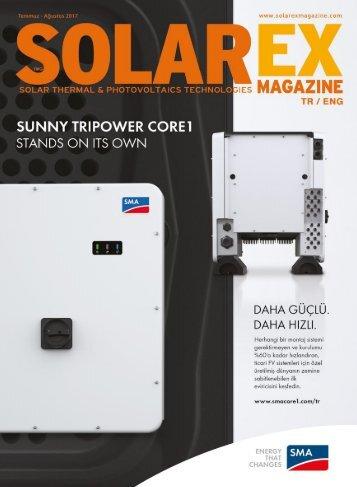 Solarex Magazine Temmuz-Ağustos 2017 Sayısı