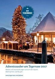 Adventszauber Tegernsee 2017