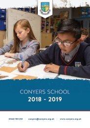 Conyers School - 2018/19 Prospectus