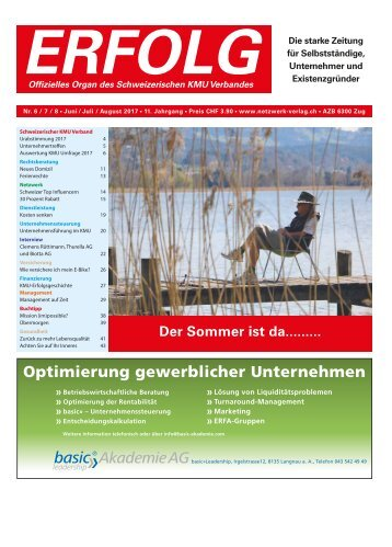 Erfolg_Ausgabe Nr. 6-8 - Jun-Aug 2017