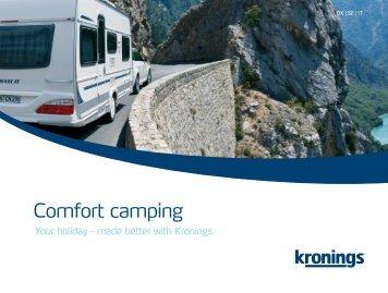 Kronings brochure - Comfort camping