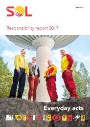 SOL Responsibility report 2017