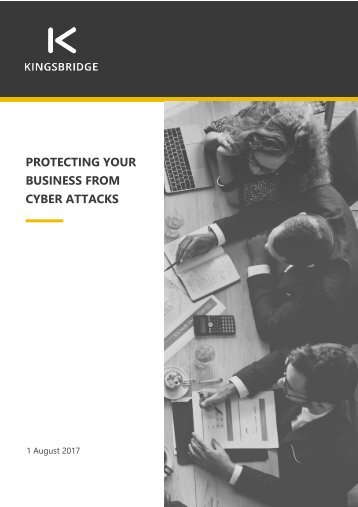 Protecting your business from cyber attacks