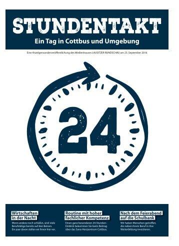 Stundentakt – Ein Tag in Cottbus und Umgebung, Ausgabe Sana-Herzzentrum Cottbus