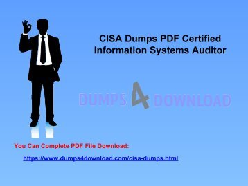Latest Free CISA Exam Questions With Valid CISA Dumps